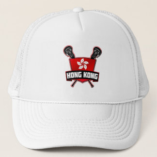 Casquette réglable de maille de lacrosse de Hong