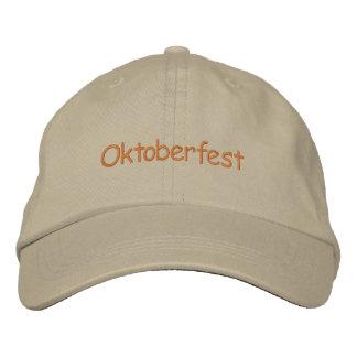 Casquette réglable d'Oktoberfest