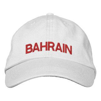 Casquette réglable du Bahrain Casquette Brodée