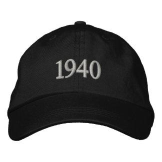 Casquette réglable personnalisé brodé par 1940