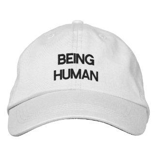 Casquette réglable personnalisé ÉTANT HUMAIN