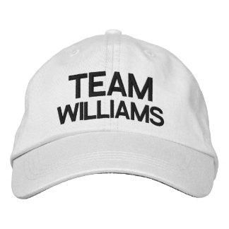 Casquette réglable personnalisé par équipe casquette de baseball brodée