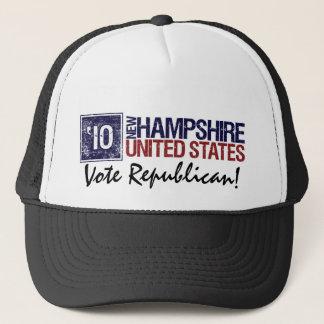 Casquette Républicain de vote en 2010 - New Hampshire