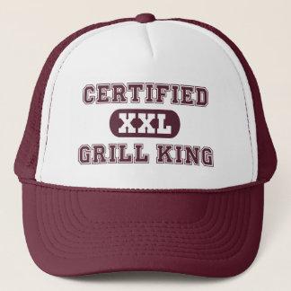 Casquette Roi certifié de gril