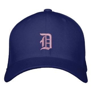 Casquette rose de bleu de ciel de Detroit D
