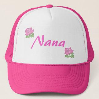 Casquette Rose Nana de rose Casquette-Personnalisable