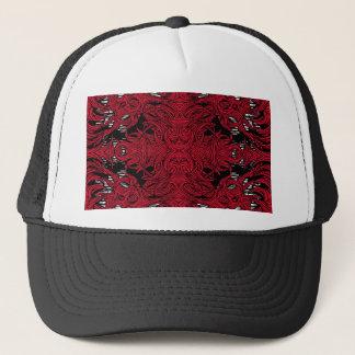 casquette rouge de monstre