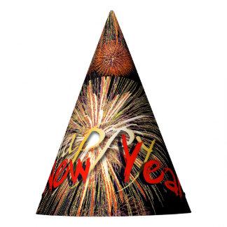 Casquette rouge de partie de la bonne année 2018 chapeaux de fètes