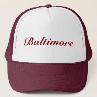 Casquette Rouge foncé de Baltimore