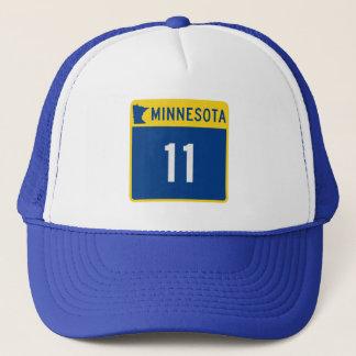 Casquette Route 11 de tronc du Minnesota