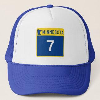 Casquette Route 7 de tronc du Minnesota