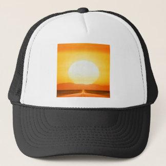 Casquette Route sauvage de coucher du soleil