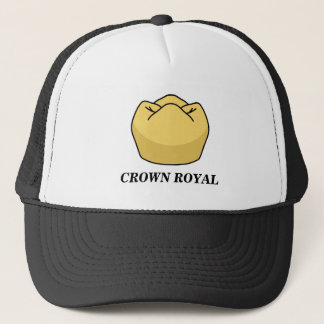 """Casquette royal de camionneur de """"couronne"""""""
