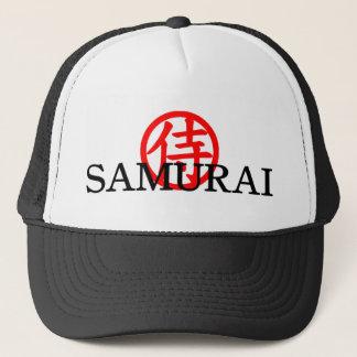 Casquette samouraï de kanji