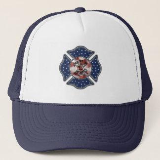 Casquette Sapeur-pompier patriote maltais