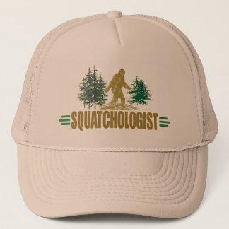 Casquette Sasquatch drôle Squatchologist