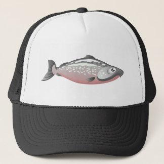 Casquette saumoné de pêche