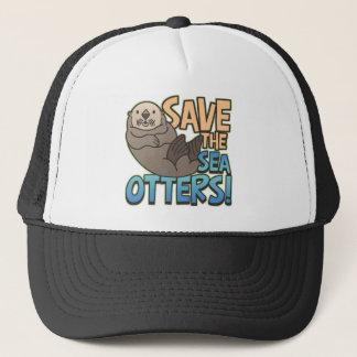 Casquette Sauvez les loutres de mer