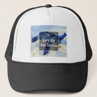 Casquette Sauvez nos tortues de mer