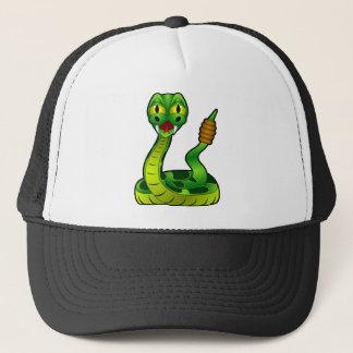 Casquette Serpent à sonnettes heureux