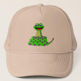 Casquette Serpent vert
