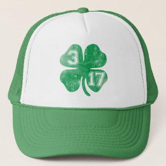 Casquette Shamrock 3/17 Jour de la Saint Patrick