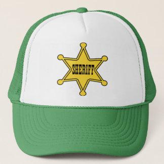 Casquette shérif !
