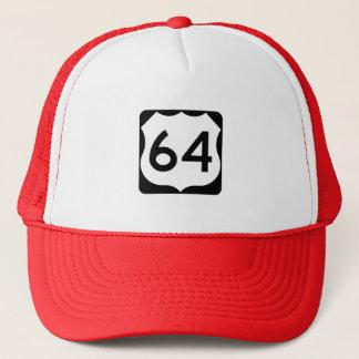 Casquette Signe de l'itinéraire 64 des USA