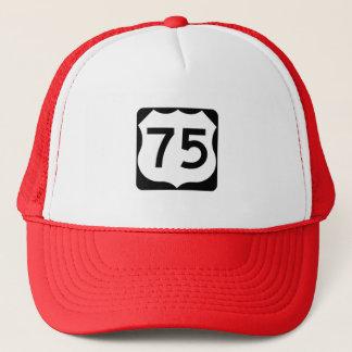 Casquette Signe de l'itinéraire 75 des USA