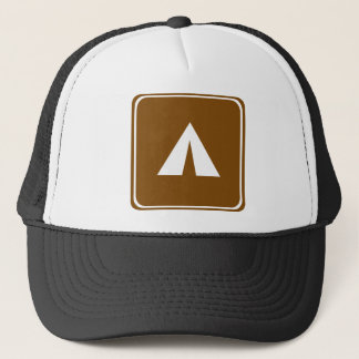 Casquette Signe de route de camping