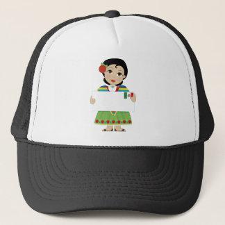 Casquette Signe mexicain de fille