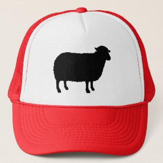 Casquette Silhouette de moutons noirs