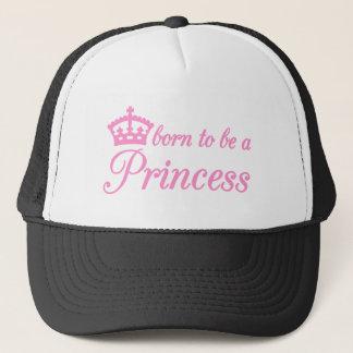 Casquette Soutenu pour être une princesse, conception des