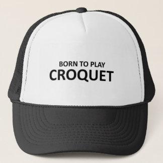 Casquette Soutenu pour jouer le croquet