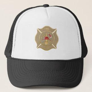 Casquette Symbole de lutte contre l'incendie de croix