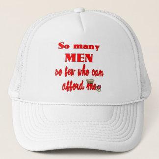 Casquette Tant d'hommes tellement peu qui peuvent se