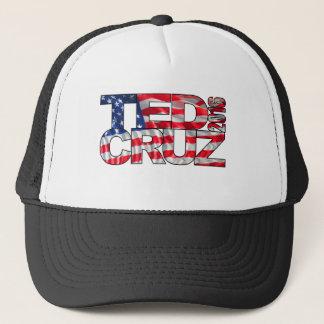 Casquette Ted Cruz 2016 (drapeau)