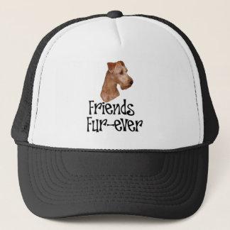 """Casquette Terrier irlandais """"Fourrure-jamais d'amis """""""