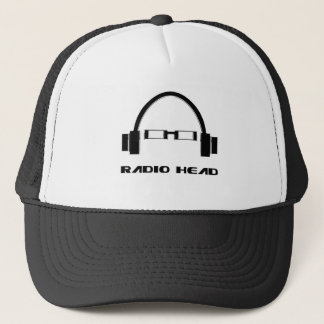 Casquette Tête par radio