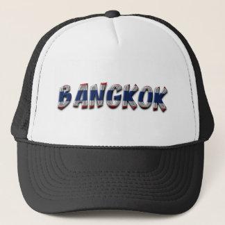 Casquette Texte élégant de typographie de Bangkok Thaïlande