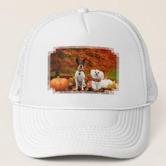 Casquette Thanksgiving de chute - Fox Terrier de Monty et