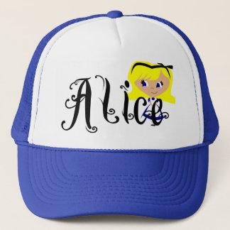 Casquette Toon Alice - les aventures d'Alice au pays des