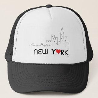 Casquette Toujours heureux à New York