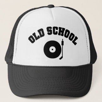 Casquette Tourne-disque du DJ de vieille école