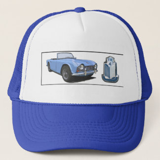 Casquette TR4 bleu