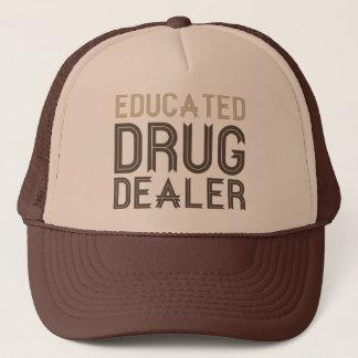 Casquette Trafiquant de drogue instruit (pharmacien)