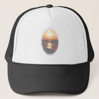 Casquette Transparent de coucher du soleil