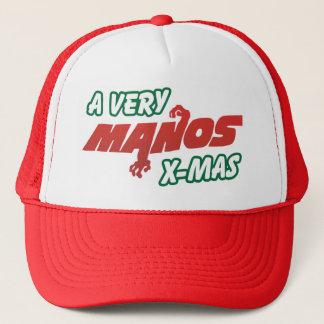 Casquette Très Noël de Manos !