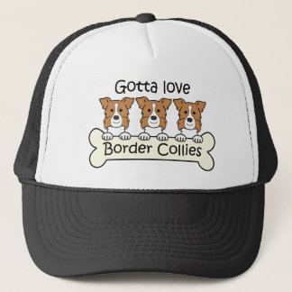 Casquette Trois colleys de frontière