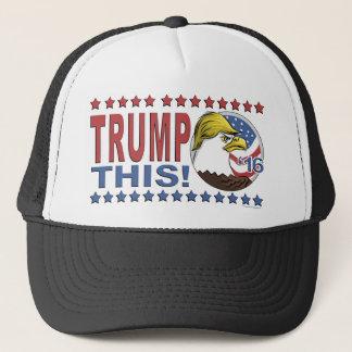 Casquette Trump cet Eagle pas aussi chauve